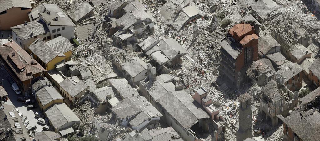 Un aiuto della Fondazione Agnelli alle persone colpite dal terremoto
