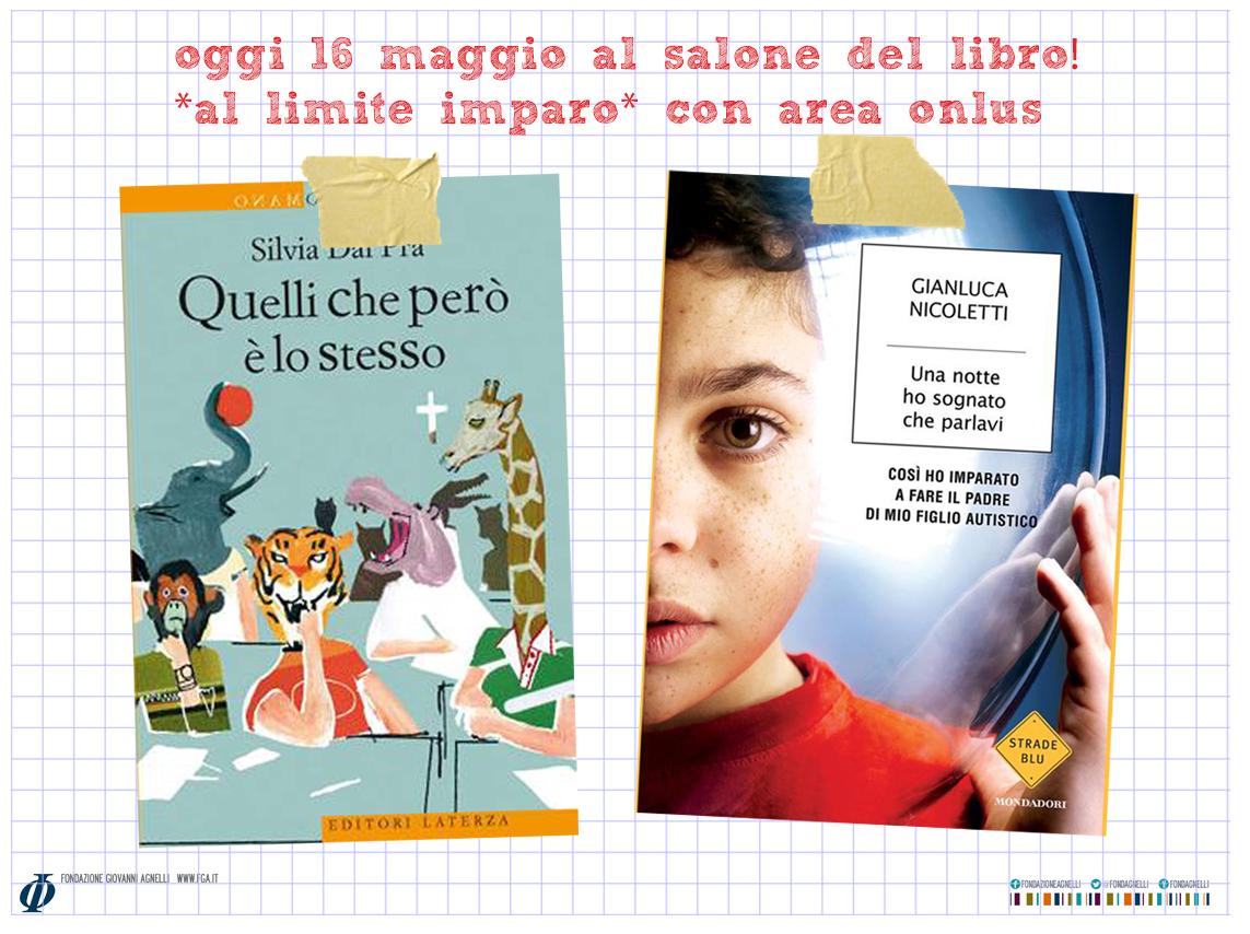 Difficoltà di apprendimento e creatività: Salone del libro, 16 maggio, ore 18.30