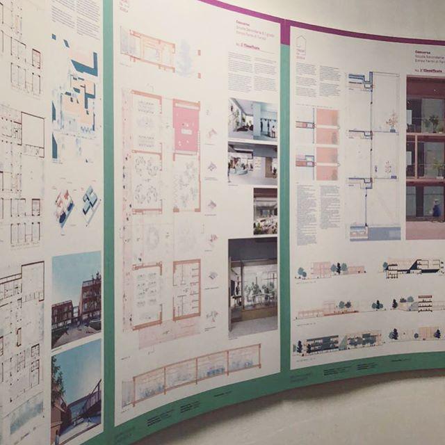 Ieri abbiamo presentato i risultati dei concorsi di for Concorsi di architettura